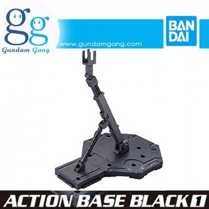 [Gundam Gang] Bandai Action Base 1 Black Gray Clear White