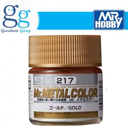 [Gundam Gang] Mr. Metal Color MC211 MC212 MC213 MC214 MC215 MC216 MC217 MC218 MC219 10ml(Delivery West Malaysia Only)