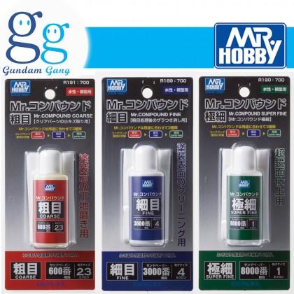 [Gundam Gang] Mr. Polishing Compound | Rough Fine | Super Fine