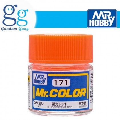 [Gundam Gang] Mr. Color Fluorescent Series C171 C172 C173 C174 C175 10ml (Deliver to West Malaysia Only)