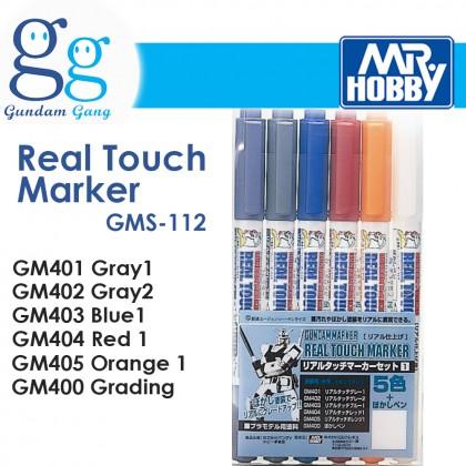 [Gundam Gang] Gundam Real Touch Marker GMS112 GM401 GM402 GM403 GM404 GM405 GM400