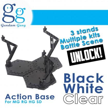 [Gundam Gang] Action Base Multiple Kits For MG RG HG SD