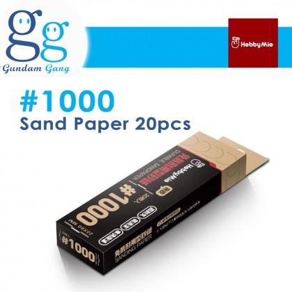 [Gundam Gang] Hobby Mio Sand Paper #400 #600 #800 #1000 #1200 Sand Paper Holder Polishing