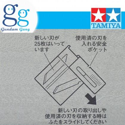 [Gundam Gang] Tamiya Craft Tools 74040 with 25 spare blades